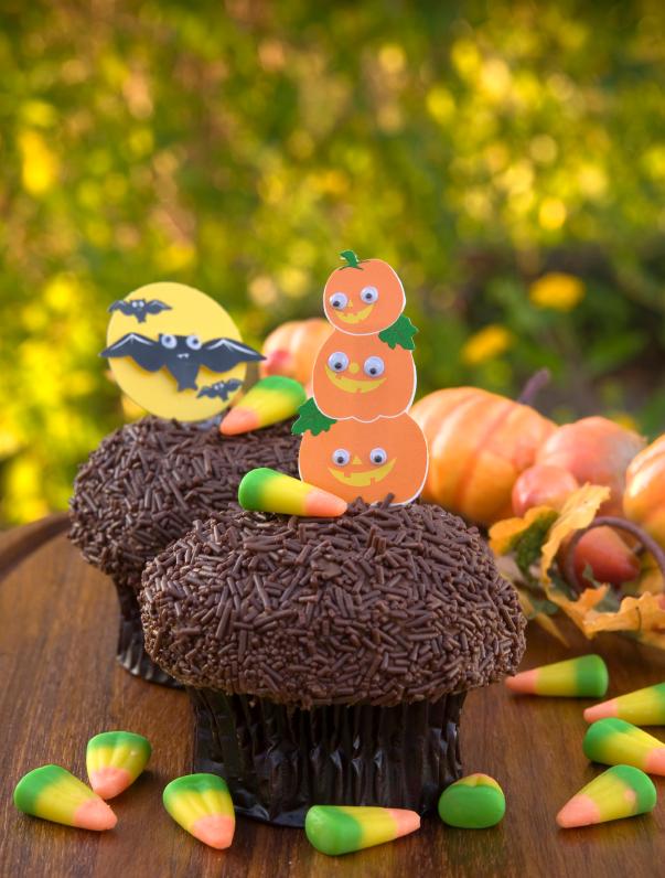 Halloween Cupcake Ideas : Decoration ideas for halloween cupcakes for kids ...