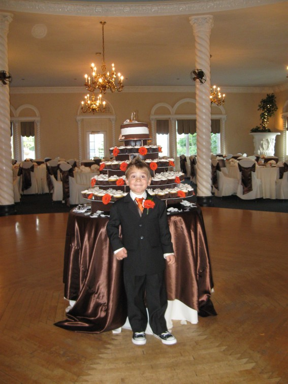 Wedding Cupcake Ring Bearer