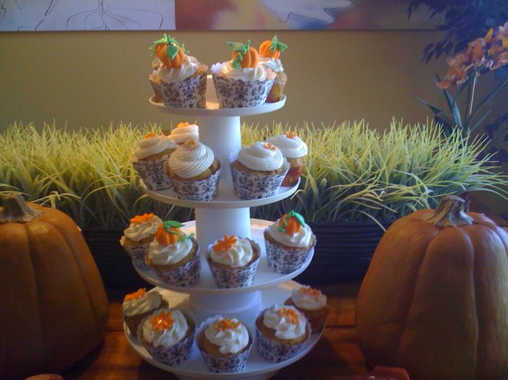 Fall Pumpkin Cupcake