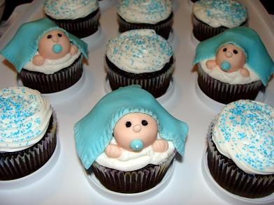 Thank you Kim for sharing your cute baby boy shower cupcake idea. You ...