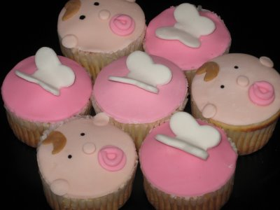 25 Beautiful Baby Girl Shower Cupcakes