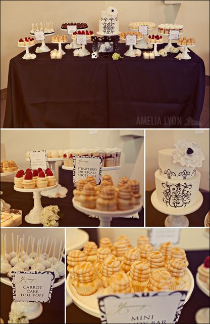 Absolutely gorgeous wedding cupcake idea