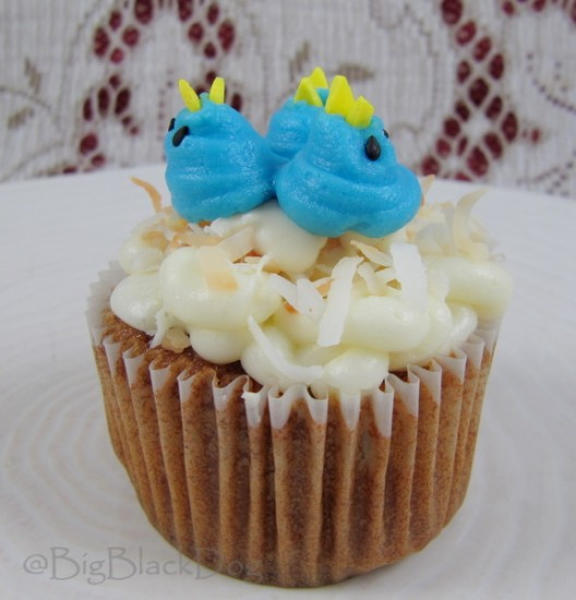 Carrot and Apple Cupcakes