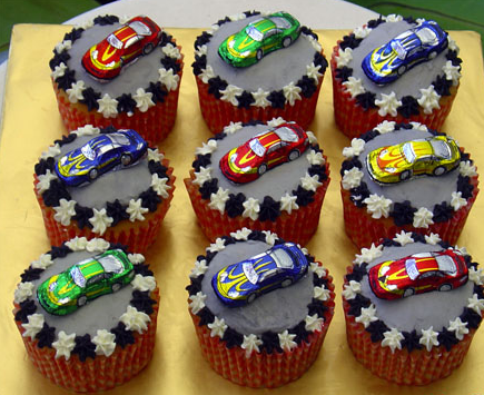 Craft Ideasyear  Birthday Party on These Car Cupcakes Are Perfect For The Baker At Any Skill Level  They